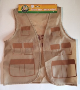 Backyard Safari Vest - Go on critter hunts in style!