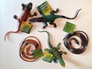 Plastic Reptiles - Many varieties!