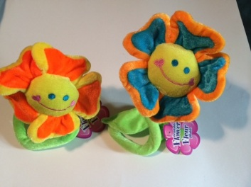 Bendable Soft Flowers - Wrap them around anything!