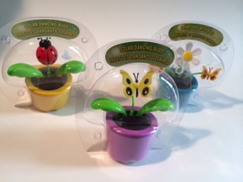 Solar Dancing Bugs - Set in the sun for buggy fun!