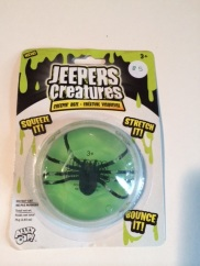 Jeepers Creepers Bug Goo - Squeeze it, Stretch it, Bounce it!
