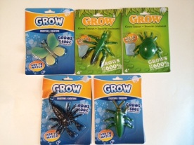 Grow Bugs - Grows 600% in water!