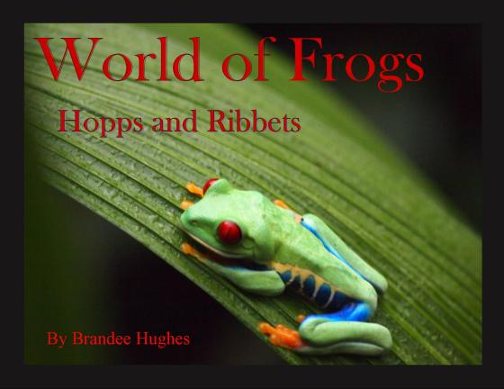 World of  Frogs - cover red