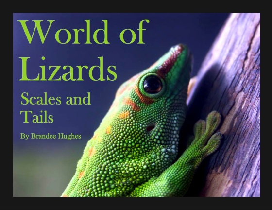 World of  Lizards cover scales & tails