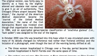 Deadly Two-Striped Telamonia Spider is a Hoax
